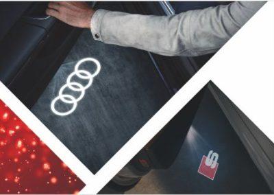 Audi Einstiegs-LED nachrüsten