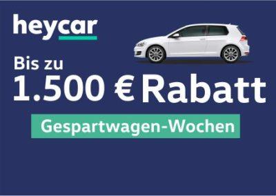 Hey Car Rabattaktion