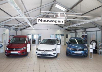 Neuwagenschauraum in Pegau