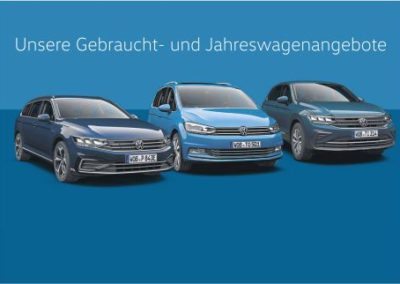 VW Gebrauchtwagenaktion