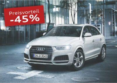 Audi Q3 Gebrauchtwagenaktion