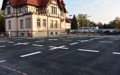Neugstaltung GW-Parkplatz