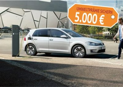 VW e-Golf Gebrauchtwagen