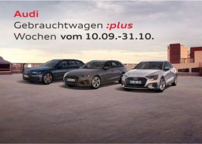 Audi Gebrauchtwagen:plus Wochen