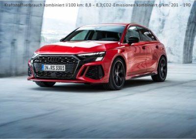 Der neue Audi RS3